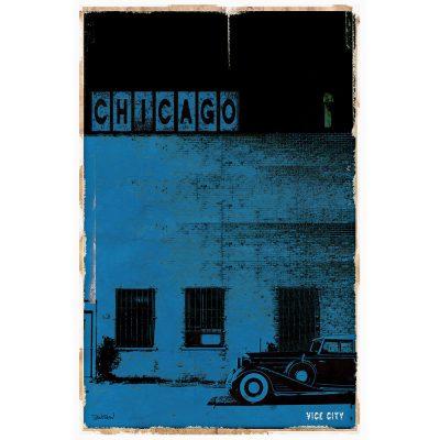 CHICAGO VICE CITY - bleu