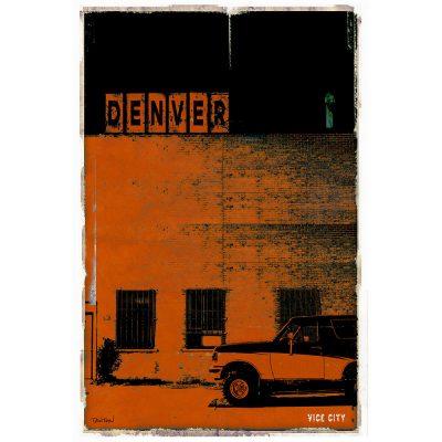 DENVER VICE CITY - orange