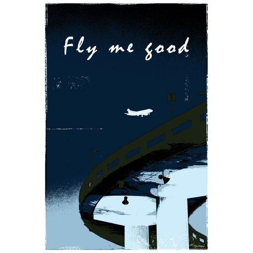 FLY ME GOOD - bleu