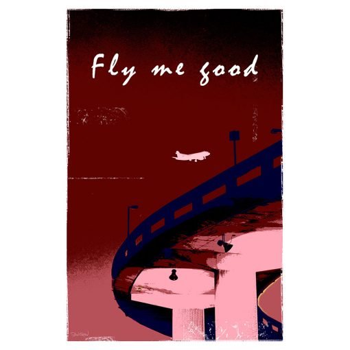FLY ME GOOD - rouge