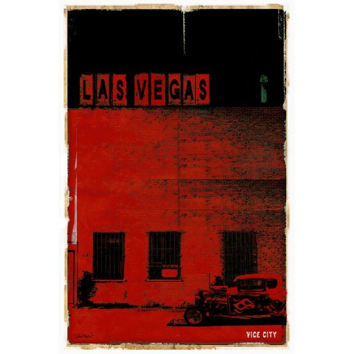 LAS VEGAS VICE CITY - rouge
