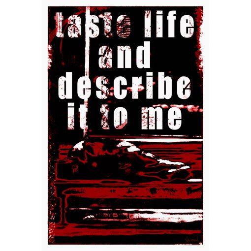 TASTE LIFE II - rouge