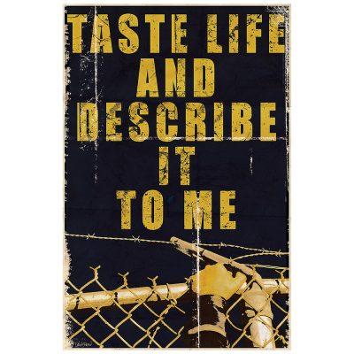 TASTE LIFE I - jaune