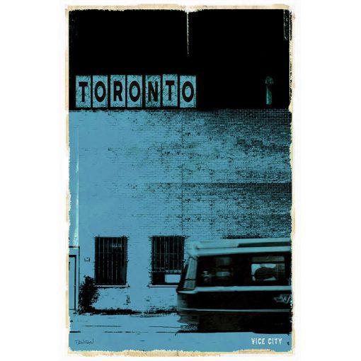 TORONTO VICE CITY - bleu