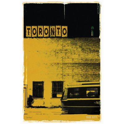 TORONTO VICE CITY - jaune
